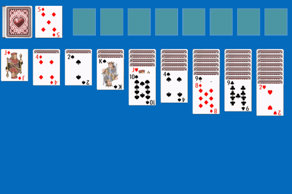double klondike solitaire game