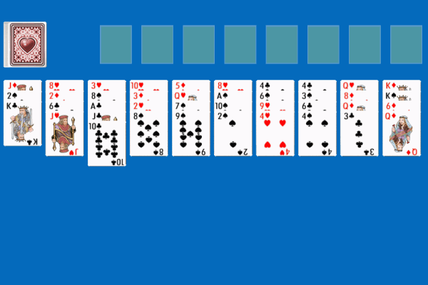 Forty Thieves Solitaire 2