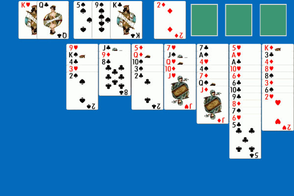 Idiot's Delight Solitaire 3
