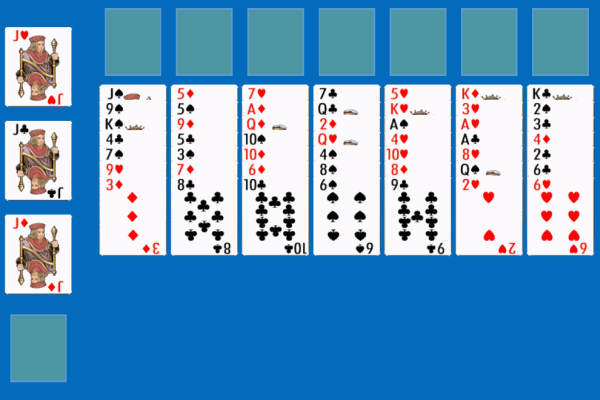 Penguin Solitaire 1