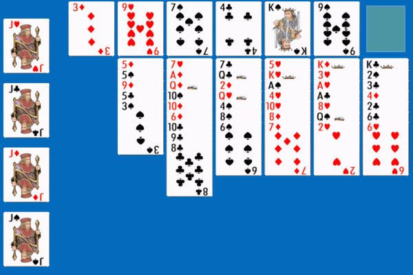 Penguin Solitaire 4