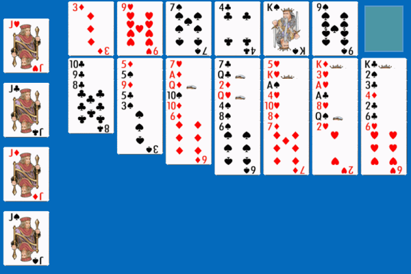 Penguin Solitaire 5