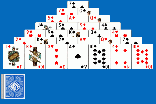 pyramid card game online
